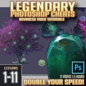 Legendary Photoshop Cheat Box (Lessons 1-11) By  Trent Kaniuga
