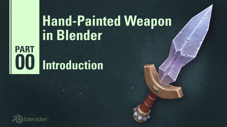 Creating a Stylized Dagger in Blender   9  Part Tutorial Series