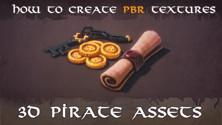 Creating Stylized Pirate Game Assets in Blender & Substance Painter