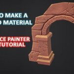 How to Make a Stylized Material in Substance Painter – Video Tutorial By 3dex