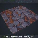 Stylized Node SBSAR + Demo scene By  karalysson