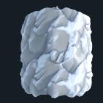 Stylized Rock Snow SBS file By  karalysson