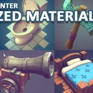 Stylized Smart Material – Substance Painter By 3dex
