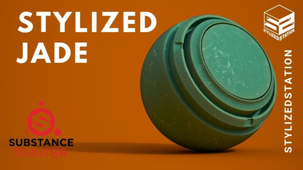 Smart Material # 1 – Stylized Jade | Substance Painter