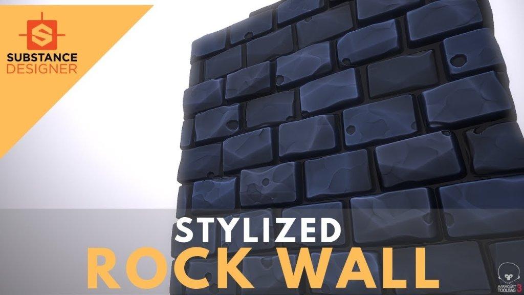 Stylized Rocks – Substance Designer 2019