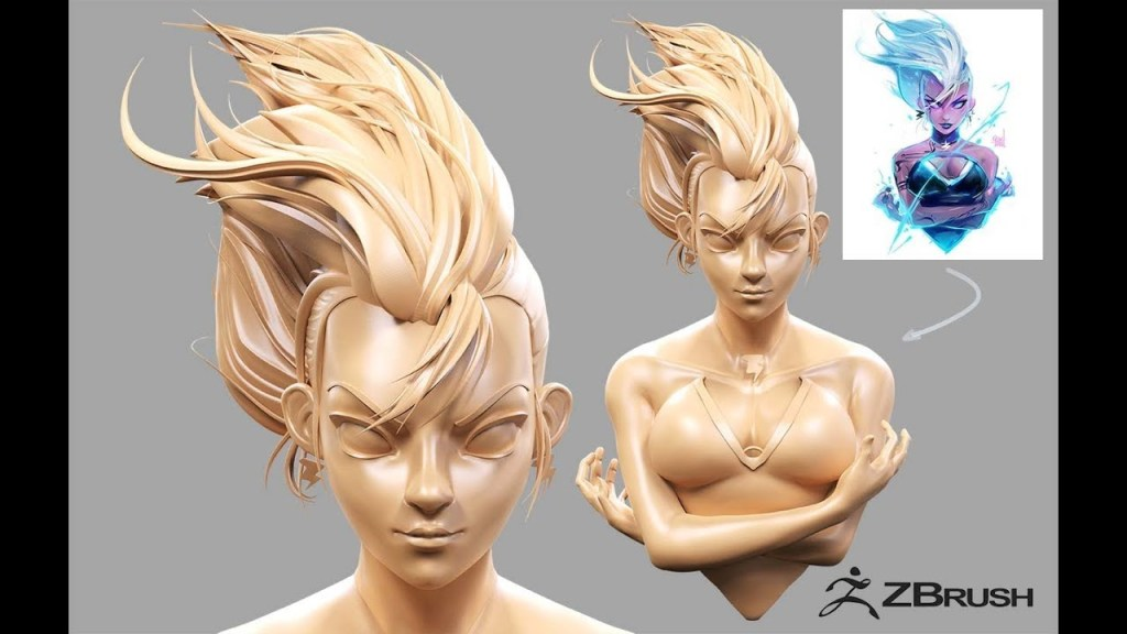 STORM Ross Draws (Speed sculpting) ZBRUSH