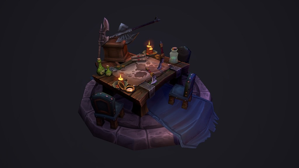 Texture Painting your 3D Scene – Tips and Tricks for creating a World of Warcraft inspired Scene.