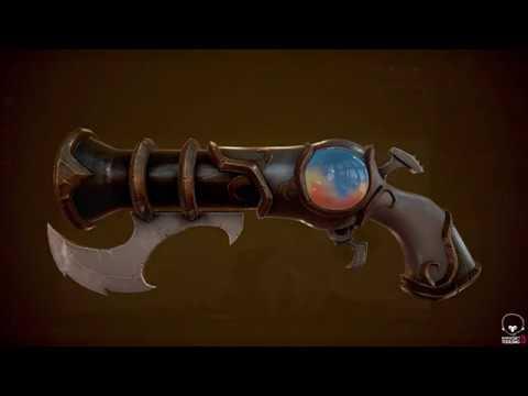 Stylized PBR Weapon Mini-tutorial