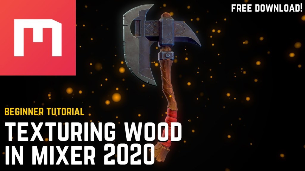 Getting Started in Mixer 2020: Wood Tutorial for Beginners