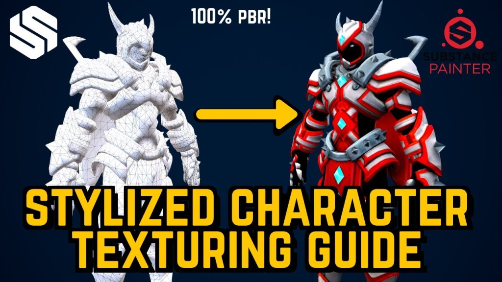 Stylized Character Texturing Guide for Beginners
