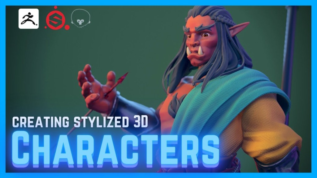 The Full 3D Character Workflow Explained [BEGINNERS GUIDE]