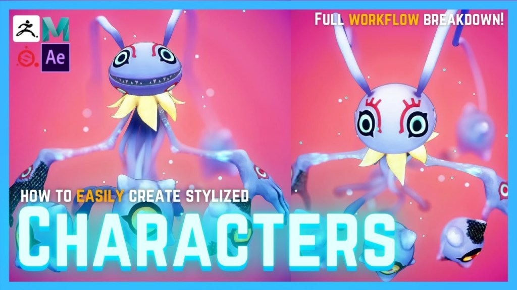 Tips & Tricks for Creating Colorful Stylized 3D Characters for Beginners