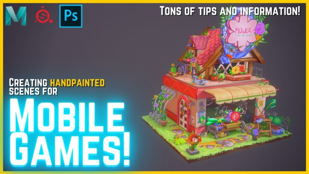 How to Make 3D Low Poly Models with Handpainted Textures!