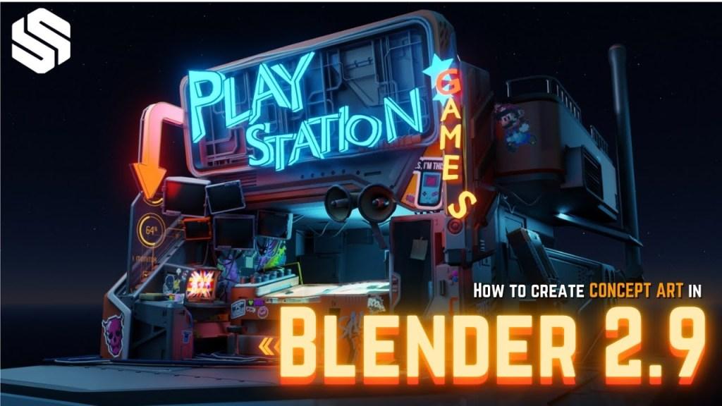 Beginner's Guide to Creating Concept Art in Blender 2.9