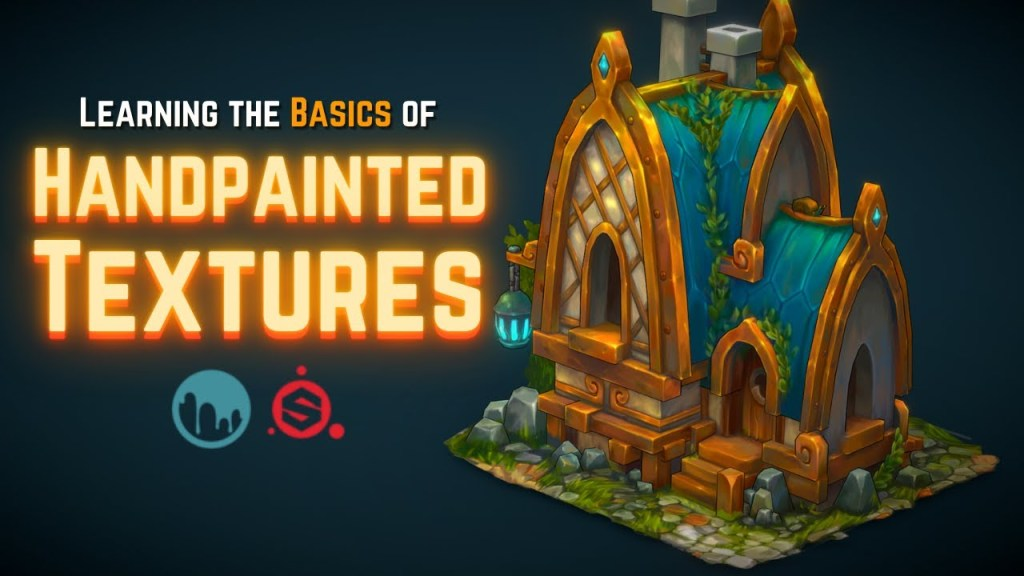 Learning The Basics of 3D Handpainted Textures