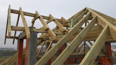 Kierowanie budową budynku mieszkalnego jednorodzinnego.