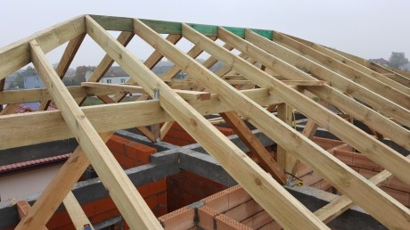 Projekt wykonawczy i kierowanie budową budynku mieszkalnego jednorodzinnego.