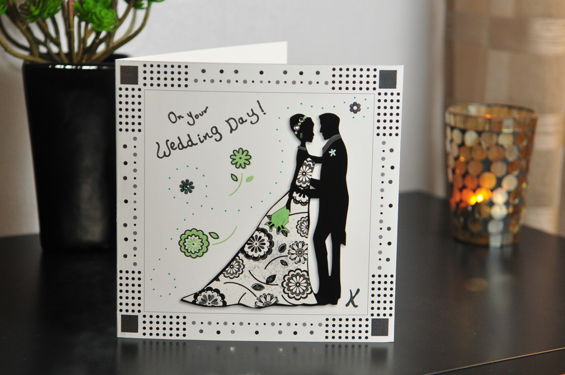 Reproduction graphique carte On Your Weeding day