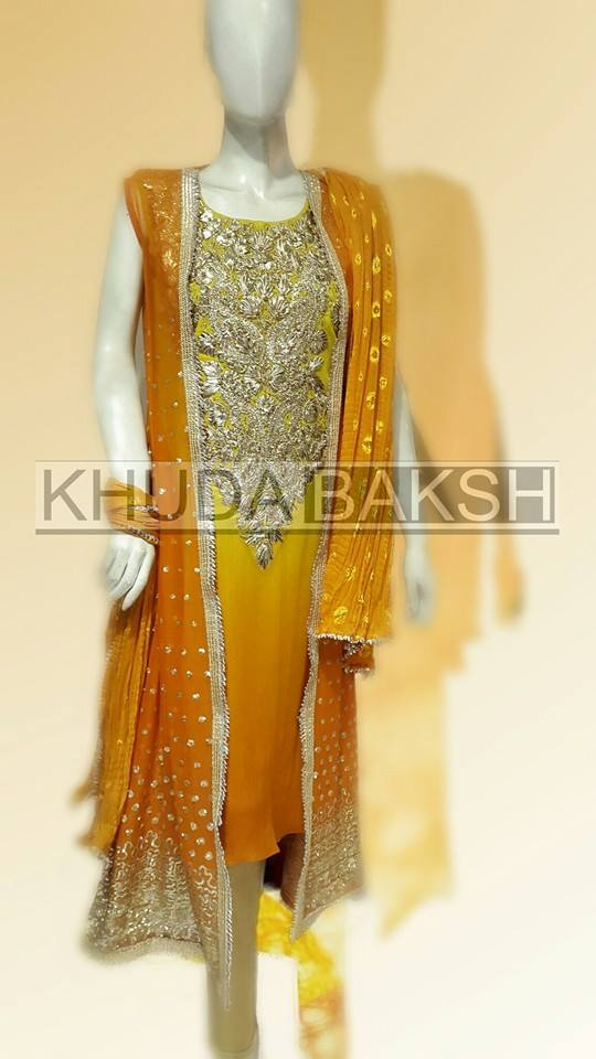 Khuda Baksh Latest Party Wear Collection For Women 2016