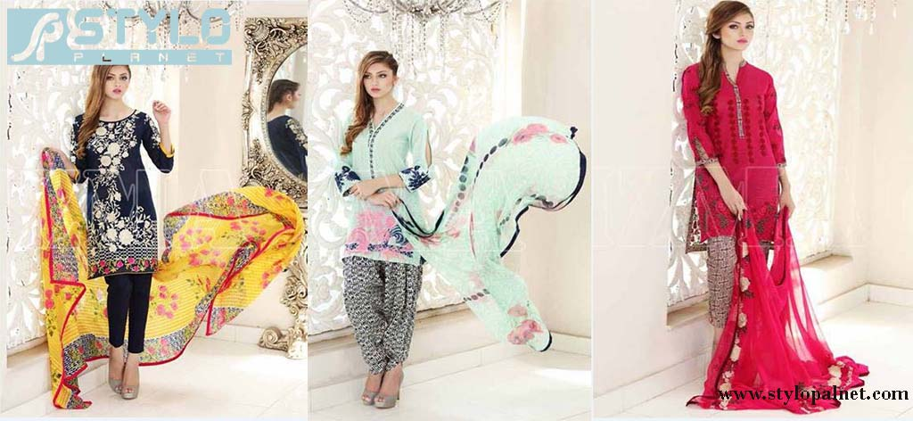 Latest Swiss Lawn Collection By Chrizma 2016 Stylo Planet
