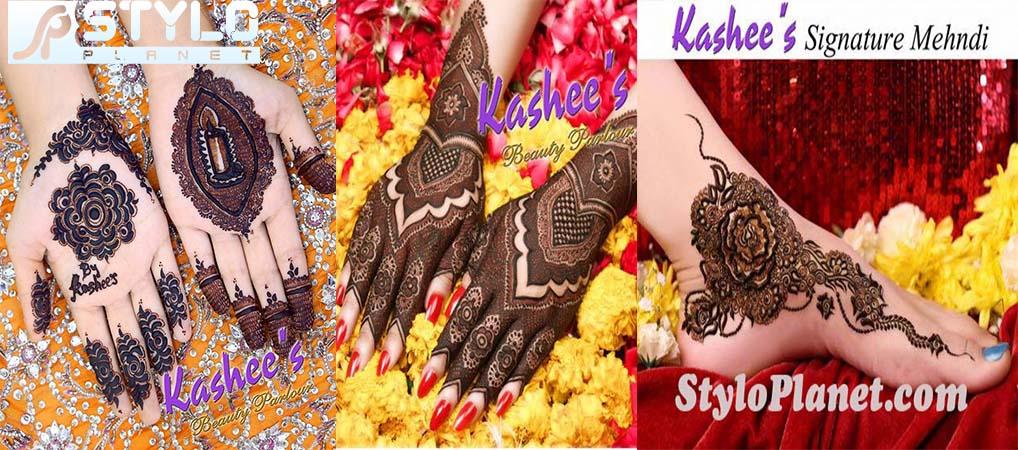 Latest Kashees Eid Mehndi Designs 2016 2017 Stylo Planet