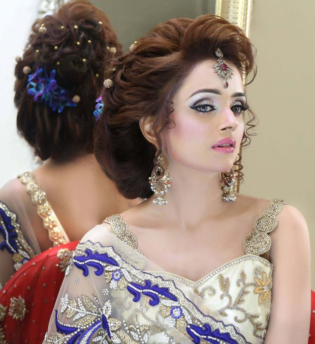 bridal hairstyles and jewelry designs ideas | stylo planet