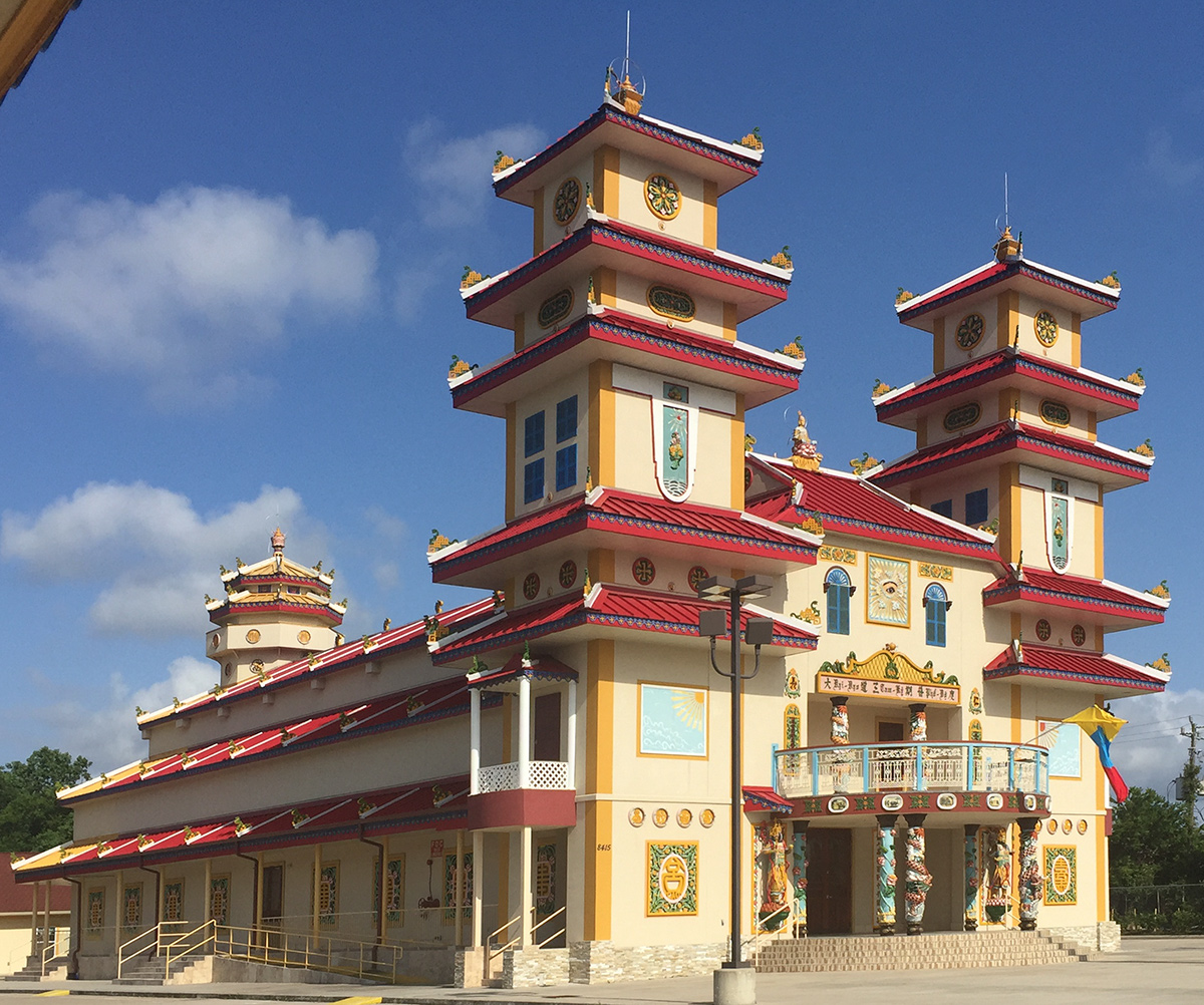 CaoDai Temple Houston