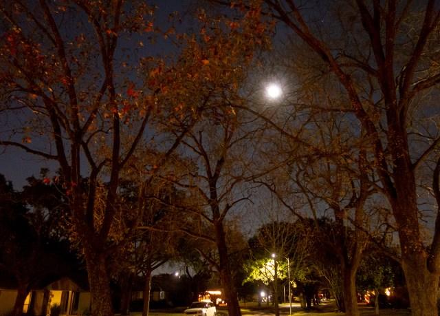 moon winter solstice