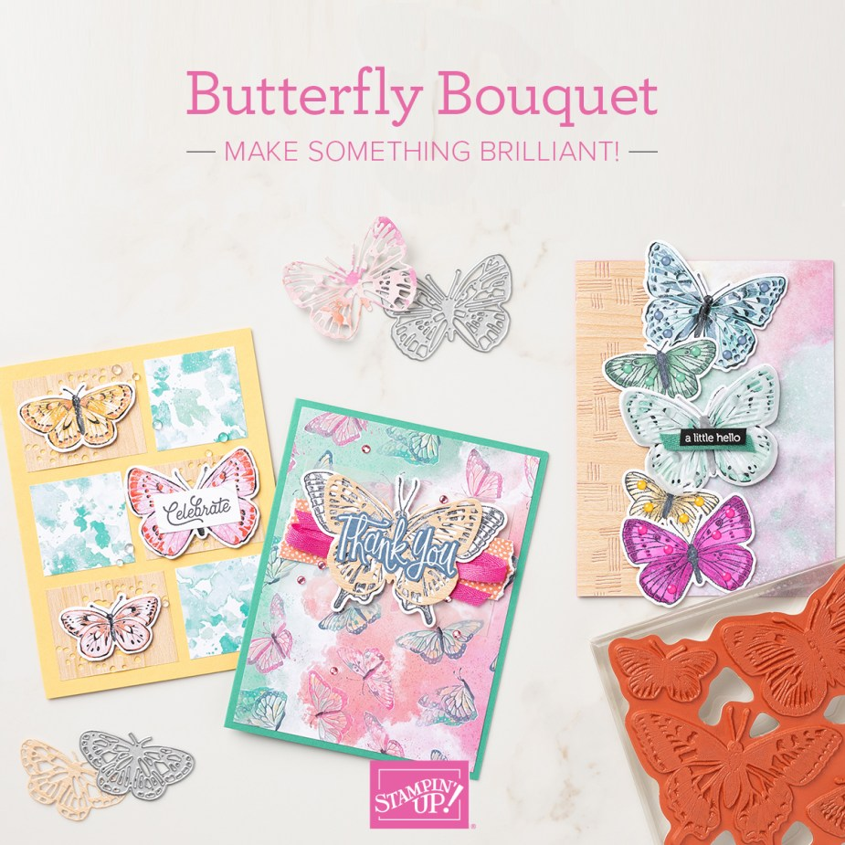 Early Release! get the Butterfly Bouquet products before the catalogue is released!
