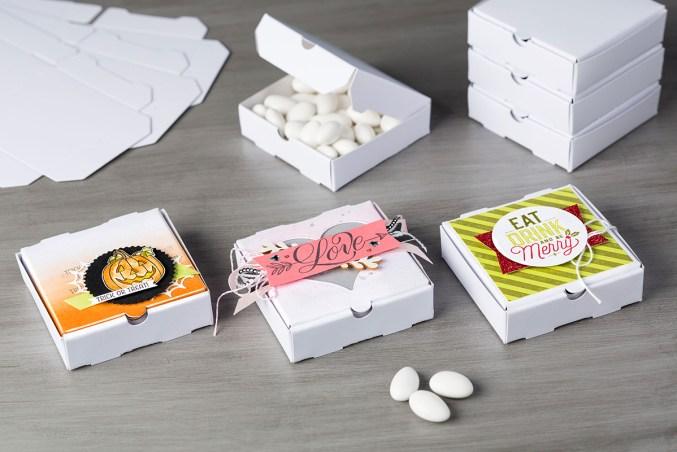 Mini-boîtes à pizza Stampin'Up®