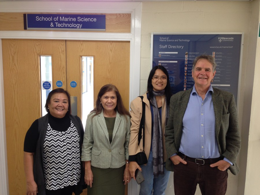 SU Discusses Joint Tropical Biological Oceanography Offering with Newcastle University