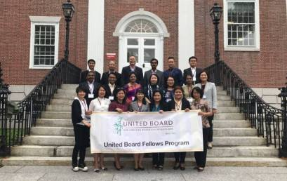 Associate Dean Completes First Part of UB Fellowship at Harvard U