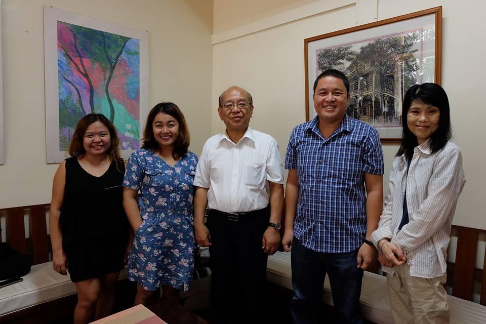 2 Shikoku Gakuin University Profs Visit Silliman for Students' Intensive English Program