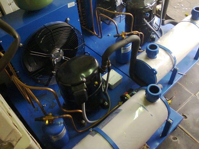 Cụm máy làm lạnh nước