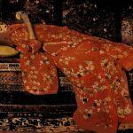 George Hendrik Breitner - Girl in Red Kimono