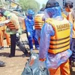 PEtugas Gabungan menemukan nelayan yang tenggelam