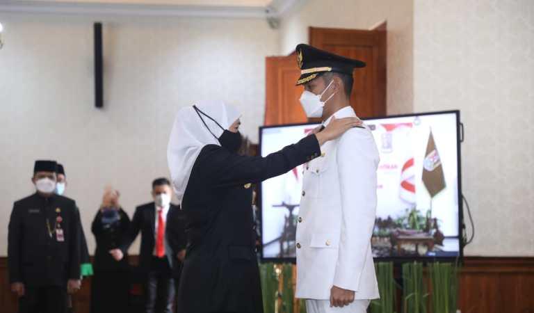 Bupati dan Wakil Bupati Tuban Resmi Dilantik, Ini Pesan Gubernur Khofifah