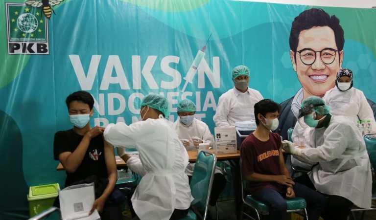 Vaksin Indonesia Bangkit, PKB Jatim Bantu Pemerintah Capai Herd Immunity Masyarakat