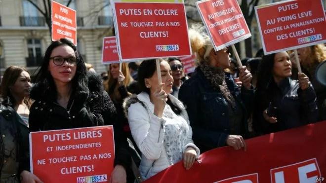 Pelanggan PSK di Prancis akan didenda Rp. 57 juta