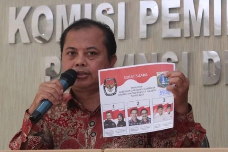 Waktu Acara Molor, Ketua KPU DKI Minta Maaf kepada Ahok-Djarot