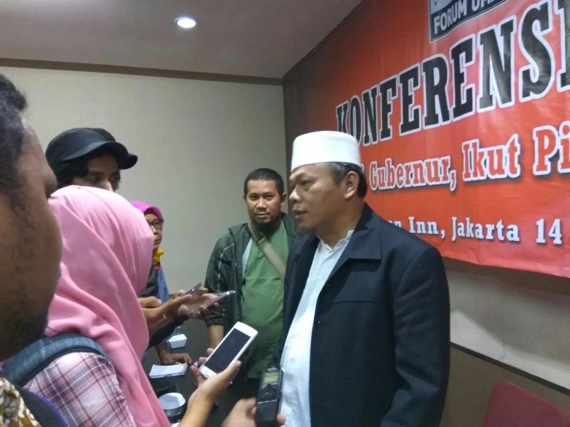 FUI Imbau Warga Muslim DKI Pilih yang Seiman dan Seagama