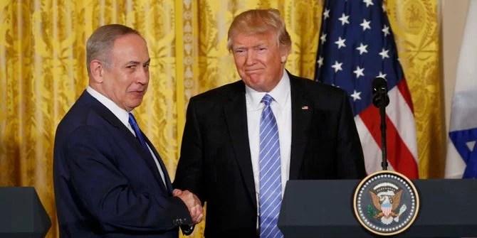 Pernyataan Trump Terkait Penyelesaian Dua Negara Disambut Baik Israel