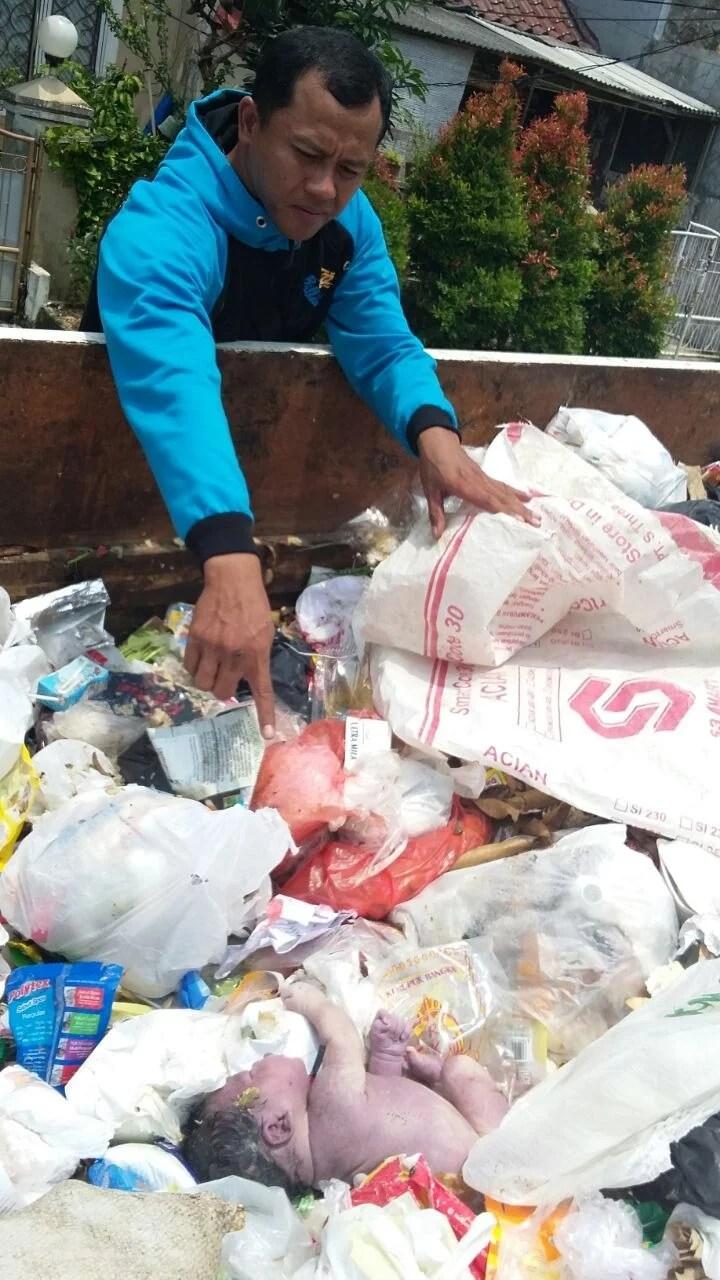 Miris! Nasib Malang Bayi dibuang di Tangerang