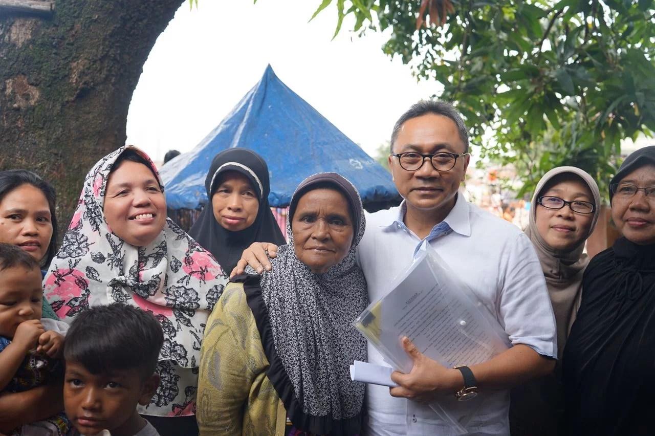 Zulkifli Hasan : Di Negeri Pancasila Tak Boleh Ada yang Kaya Sendirian