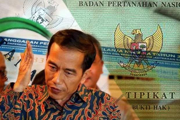 Reforma Agraria, Jokowi Target 5 Juta Sertifikat Tanah Tahun 2017