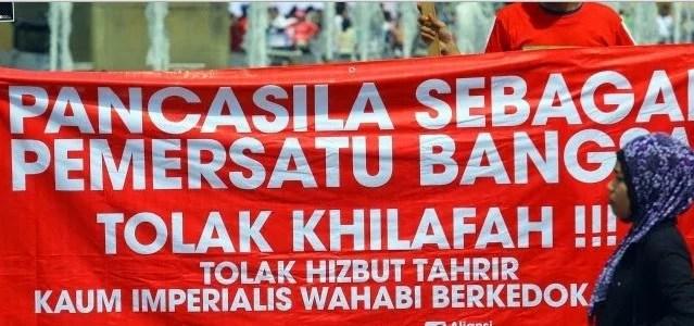 Komitmen Banser NU dan GP Ansor: HTI Tak Boleh Ada di Bumi Indonesia