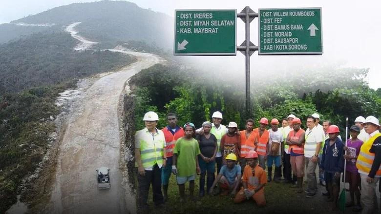 Terus Digenjot, Kementerian PUPR Gandeng TNI dalam Proyek Raksasa Pembangunan Trans Papua