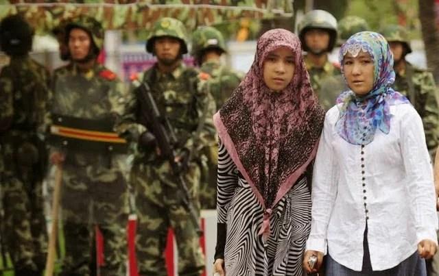 Viralkan Ekstremisme Religius, Muslimah Xinjiang Cina Ditangkap