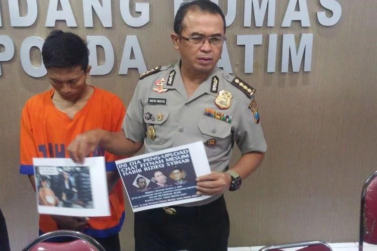 Polisi Tangkap Santri yang Hina Presiden dan Kapolri