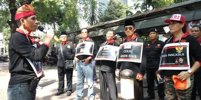 Patriot Garuda Nusantara: Bubarkan HTI dan FPI, Coret Amien Rais sebagai Bapak Reformasi